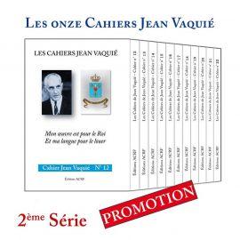 Cahiers Jean Vaquié 2ème série