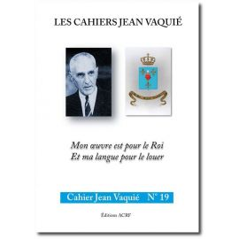 Cahier Jean Vaquié N°19