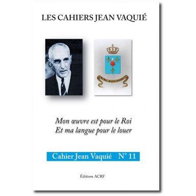 Cahier Jean Vaquié N°11
