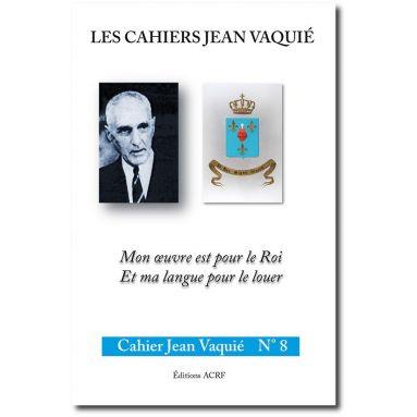 Cahier Jean Vaquié N°8