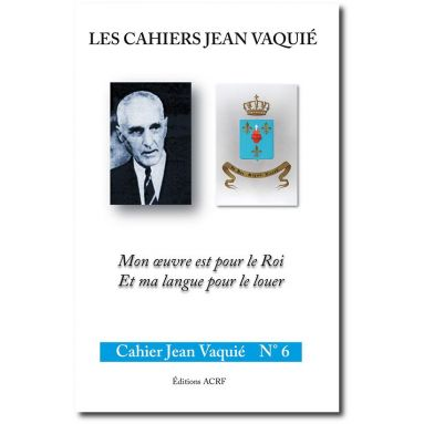 Cahier Jean Vaquié N°6