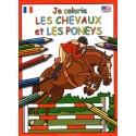 Je colorie les chevaux et les poneys