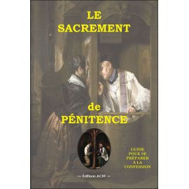 Le sacrement de pénitence