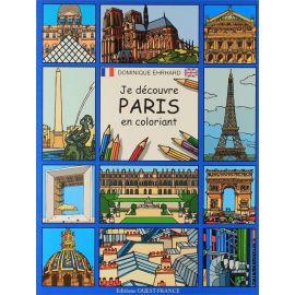 Je découvre Paris en coloriant