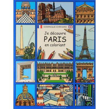 Dominique Ehrhard - Je découvre Paris en coloriant