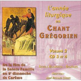 Schola Bellarmina - L'Année liturgique en Chant Grégorien - Volume 2