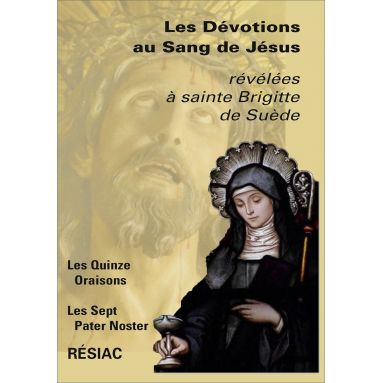 Sainte Brigitte de Suède - Les dévotions au Sang de Jésus