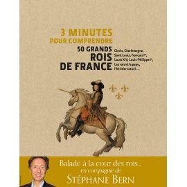 Stéphane Bern - 3 minutes pour comprendre 50 grands rois de France