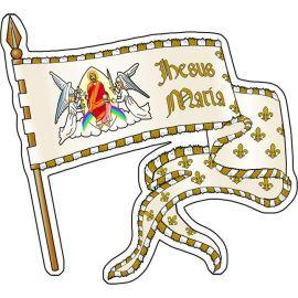 La bannière de Jeanne d'Arc