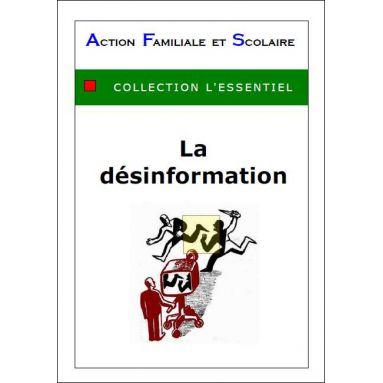 Arnaud de Lassus - La désinformation