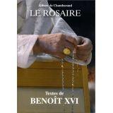 Le Rosaire, textes de Benoît XVI