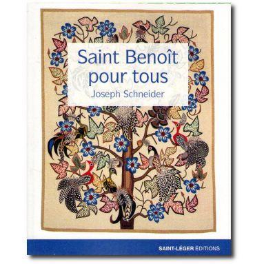 Saint Benoit pour tous avec un CD MP3