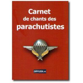 Carnet de chants des parachutistes