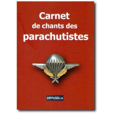 Thierry Bouzard - Carnet de chants des parachutistes