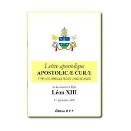 Léon XIII - Lettre apostolique Apostolicae Curae