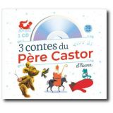 3 contes du Père Castor d'hiver Avec un CD audio