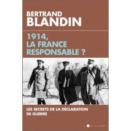 Bertrand Blandin - 1914, la France responsable ?
