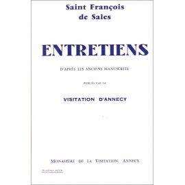 Saint François de Sales - Entretiens