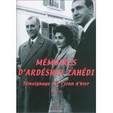 Mémoires d'Ardéshir Zahédi Tome 2