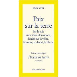 Jean XXIII - Paix sur la terre