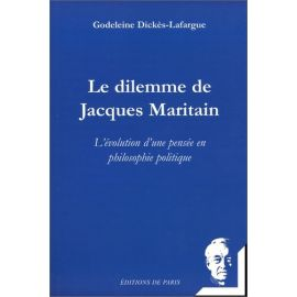 Le dilemme de Jacques Maritain