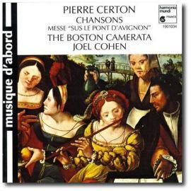 """Pierre Certon - Messe """"Sus le Pont d'Avignon"""""""