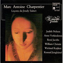 Marc-Antoine Charpentier - Leçons de Ténèbres du jeudi Saint