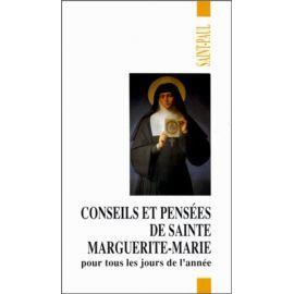Monastère de La Visitation - Conseils et pensées de sainte Marguerite-Marie pour tous les jours de l'année