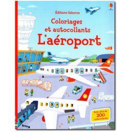 L'aéroport coloriages et autocollants
