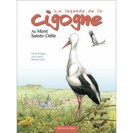 La légende de la cigogne au Mont-Saint-Odile