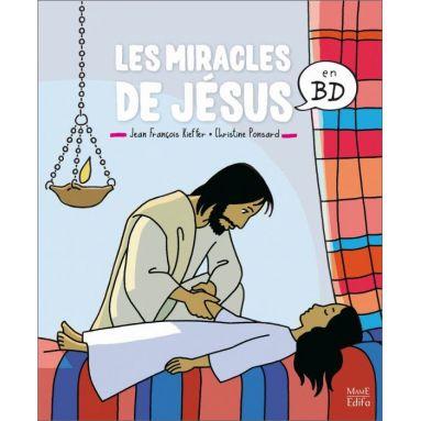 Christine Ponsard - Les miracles de Jésus en BD