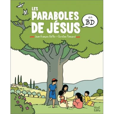 Christine Ponsard - Les paraboles de Jésus en BD
