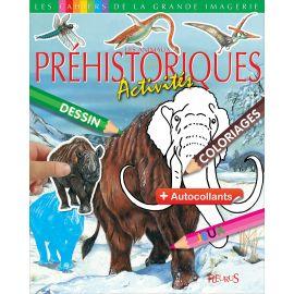 Les animaux préhistoriques - Activités