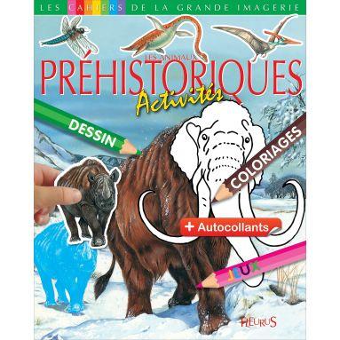 Emilie Beaumont - Les animaux préhistoriques - Activités