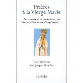 Prières à la Vierge Marie