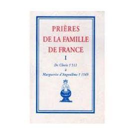 Prières de la famille de France