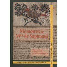 Madame de Sapinaud - Mémoires de Mme de Sapinaud
