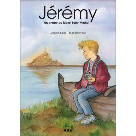 Jérémy un enfant au Mont-Saint-Michel