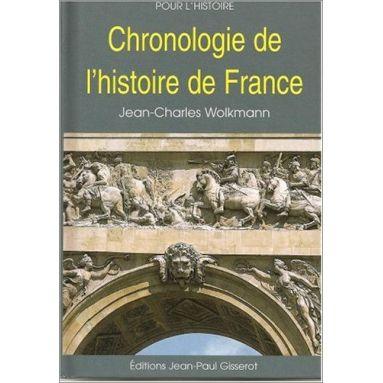 Jean-Charles Wolkmann - Chronologie de l'histoire de France