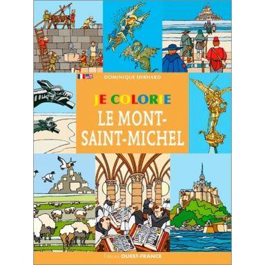 Dominique Ehrhard - Je colorie le Mont-Saint-Michel