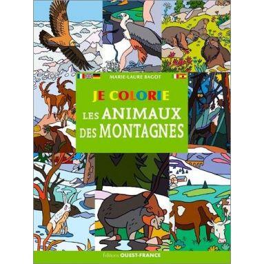 Marie-Laure Bagot - Je colorie les animaux des montagnes