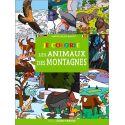 Je colorie les animaux des montagnes