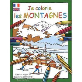 Je colorie les montagnes