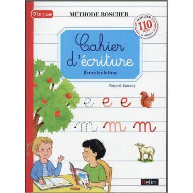 Gérard Sansey - Cahier d'écriture méthode Boscher