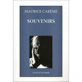 Maurice Carême - Souvenirs