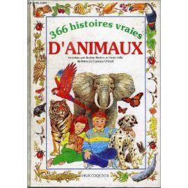 366 histoires vraies d'animaux