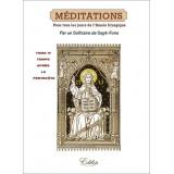 Méditations pour tous les jours de l'Année liturgique - Temps après la Pentecôte