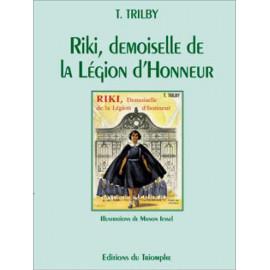 Riki demoiselle de la Légion d'Honneur