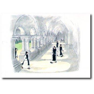 Abbaye Sainte-Marie de Rieunette - Prière Le Cloître