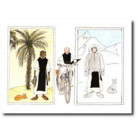 Voyages au sud, nord, à vélo